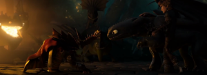 The best scene in 'How to Train Your Dragon 2′ is the one that creates all of its problems