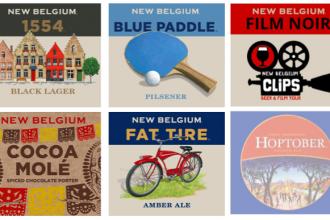 new belgium clips beer & film tour