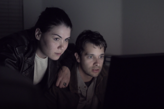 Candace Lauren Ostler and Alex Frew in 'Violet'